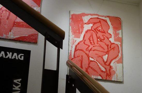 F.Nubet in der Daka-Galerie
